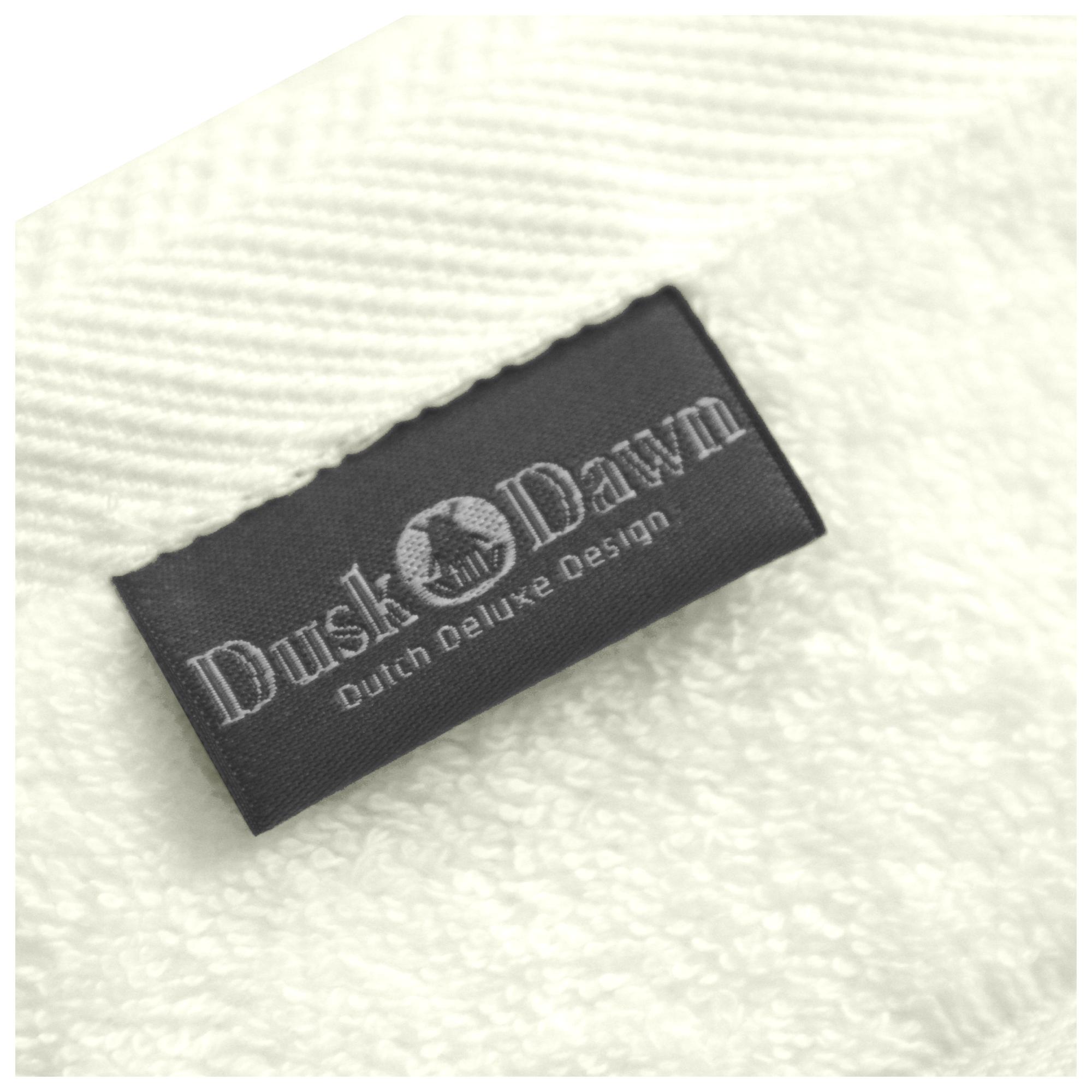 wolwitte handdoek